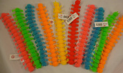 Super Stretchy 24cm Rubber Caterpillar - 1 Picked At Random - Party Bag Toys