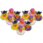 Girl Pirate Rubber Ducks - 12 pc