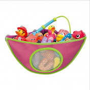 Gaorui Baby Bath Toys Corner Organiser Basket kids Toddler Net Storage Bag Organiser