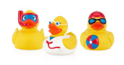 Nuby Groovy Ducks Limited Edition Bath Time Toys