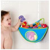 Powkoo Baby Bath Toy Waterproof Triangle Bag Corner Organiser Storage Bag Pouch