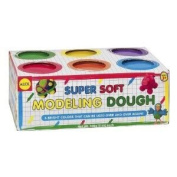 Toy / Game Alex Toys Super Soft Modelling Dough Colours Include Red, Blue, Green, Purple, Yellow And Orange