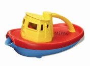 Green Toys Bath & Water Play Tugboat, Yellow Top  .