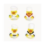 One Dozen (12) Chef Rubber Ducks