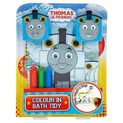 Official Thomas & Friends Colour Me In Bath Tidy