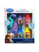 Disney Frozen Bathtub Fingerpaint Set - Mess Free Soap Paints - Includes Palette Roller and Stamper