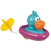 Sassy Pull and Go Boat Bath Toy, Pelican by Sassy