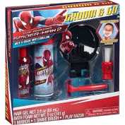 Marvel's The Amazing Spider-Man, 2 Groom & Go Play Razor Gift Set, 5 pc by MZB
