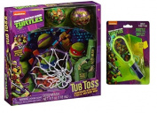 Nickelodeon Teenage Mutant Ninja Turtles Tub Toss Gift Set, 4 pc Plus Bonus TMNT Whistle With Attached Lanyard!