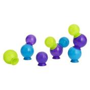 Boon Bubbles Suction Cup Bath Toys, Blue