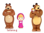 Masha i Medved. Masha and the Bear Rubber Toys. Special offer 3 toys!