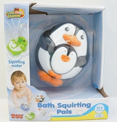 Happy Kid Toy Group - Penguin Bath Tub Squirting Pals - Little Learner