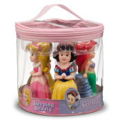Disney World Parks Exclusive Princess Bath Tub Pool Squeeze Toys 5 Pc. Set Belle Ariel Cinderella Aurora Snow White - NEW