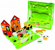 Meadow Kids Farm Yard Floating Activity Scene