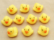 GOTD One Dozen (12PCs) Rubber Duck Ducky Duckie Baby Shower Bath Floating Birthday Party Favours