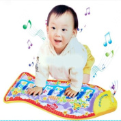 Baby Fish Animals Music Piano Development Touch Mat Toy Gift