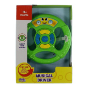 Musical Driver Various Colour Steering Wheel