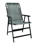 Caravan Sports Suspension Folding Chair - Grey