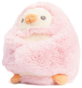 13cm Pink Peek A Boo Penguin Soft Toy With Rattle