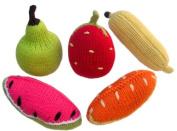 Yellow Label Kids Rattles, Fruit