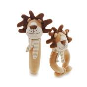 SHILOH Rattle Plush Toy Lovely Kid Children Infant Doll Intelligence Developmental Gift Animals