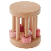 Hallmark Wooden Pink Rattle BBY 4599