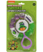 TMNT Cool Teether & Lollipop Rattle Set - purple, one size