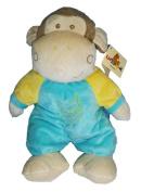 30cm Plush Bell Rattle Stuffed Monkey