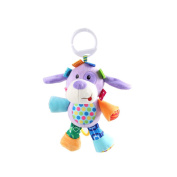 X-star Cute Animal Shape Design Bell Rings Toys Multifunctional Solf Baby Rattle Toys