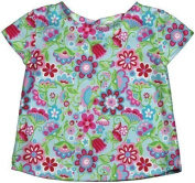 i play. Baby Girls' Cap Sleeve Rashguard Classic Lime Cupcakes Small by i play.