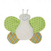 Organic Cotton Butterfly Rattle Toy for Baby