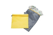 J.L. Childress Wet Bag, Yellow/Grey, 2 Count by J.L. Childress