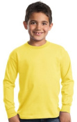 NEW Port & Company - Youth Long Sleeve Essential T-Shirt. PC61YLS. by Port & Company
