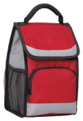 Port Authority Flap Lunch Cooler OSFA Red by Port Authority