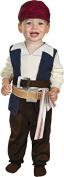 MorrisCostumes DG29828W Jack Sparrow 12-18 Month by Morris Costumes