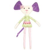 ella & otto Soft Mouse Rattle