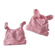 Babysoy Baby Girls' Duo-Styles Signature Hat by Babysoy