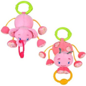 Bright Starts Tug Tunes Infant Toy - Pink