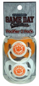 NCAA Clemson Tigers Infant Pacifier by Game Day Outfitters