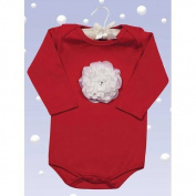 Bearington Baby Holiday Baby Blooms Onesie by Bearington
