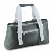 Picnic Time Alexis Insulated Lunch/Wine Tote, Grey by Picnic Time