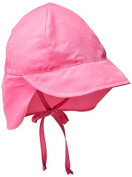 i play Little Girls' Solid Flap Sun Hat (Baby/Toddler) by i play.