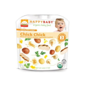 Happy Baby Organic Baby Food Stage 3 Chick Chick -- 120ml Each / Pack of 6 by HAPPYBABY