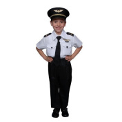 Deluxe Childrens Pilot Costume Set - Toddler by Dress Up America