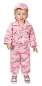 Aeromax Jr. Camouflage Suit with Cap, Size 18Month, Pink by Aeromax