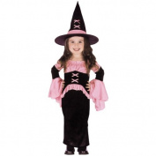 Pretty Pink Witch Costume - Toddler Costume by Fun World Costumes