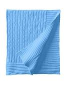 Elegant Baby Cable Blanket- Blueberry by Elegant Baby