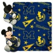 Michigan Wolverines Disney Hugger Blanket by Hall of Fame Memorabilia