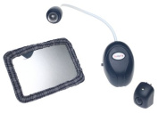 Baby Night Sight Value Pack Remote Control Light and Mirror Set by SafeFit