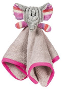Emme the Elephant Pink and Grey Cuddle Buddy by Gifted Living